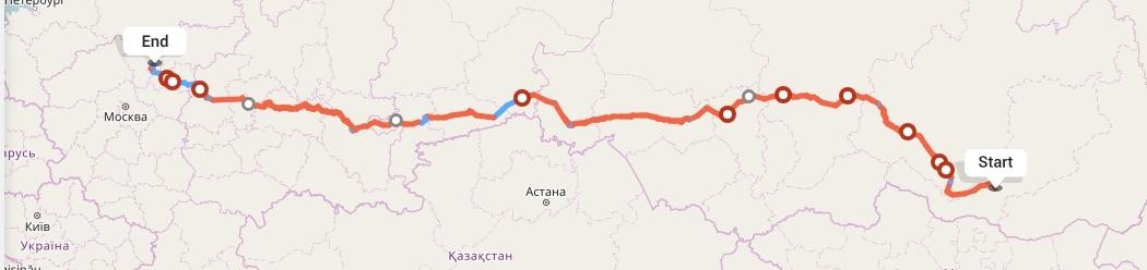 Переезд из Улан-Удэ в Ярославль
