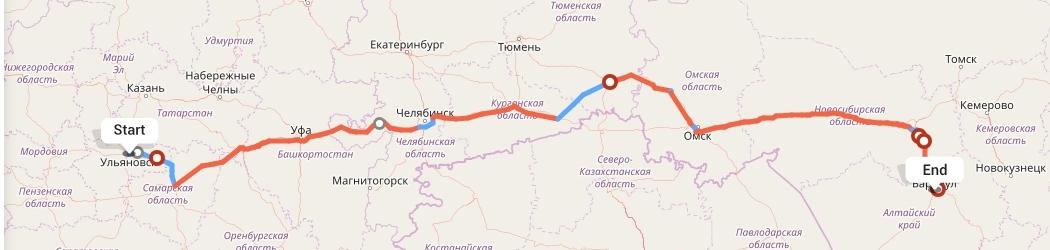 Переезд из Ульяновска в Барнаул