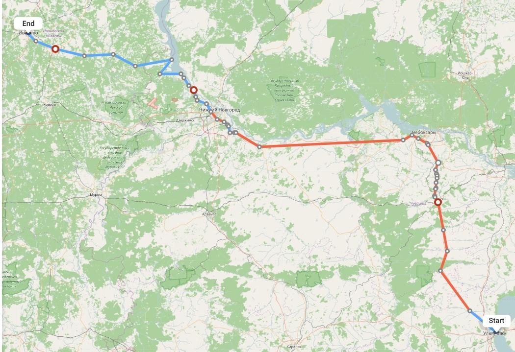 Переезд из Ульяновска в Иваново