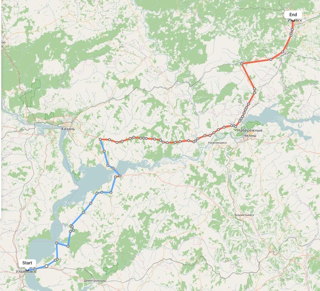 Переезд из Ульяновска в Ижевск