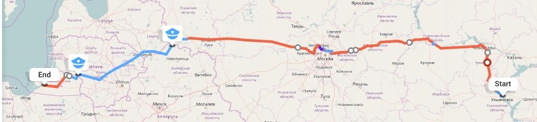 Переезд из Ульяновска в Калининград