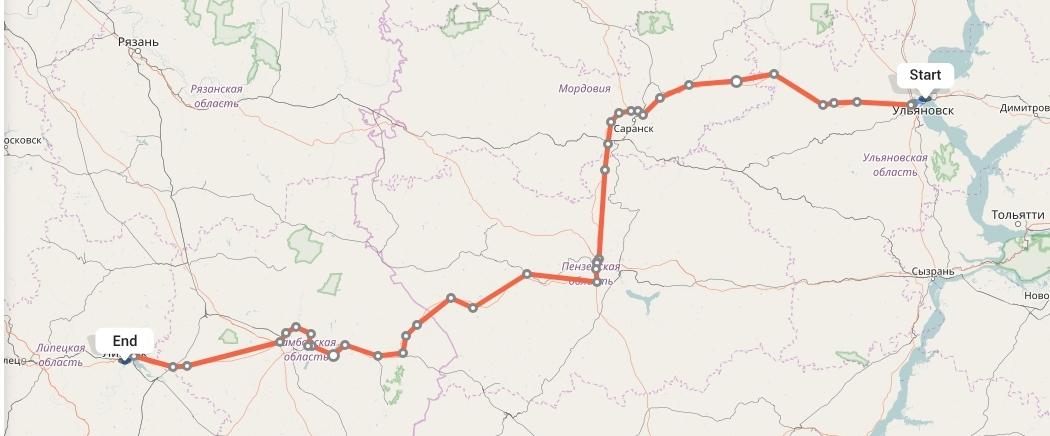 Переезд из Ульяновска в Липецк