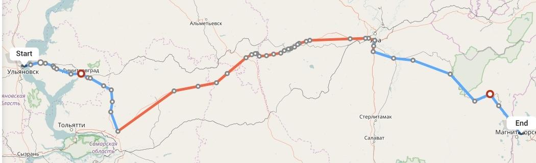 Переезд из Ульяновска в Магнитогорск
