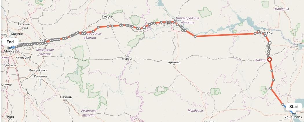 Переезд из Ульяновска в Москву