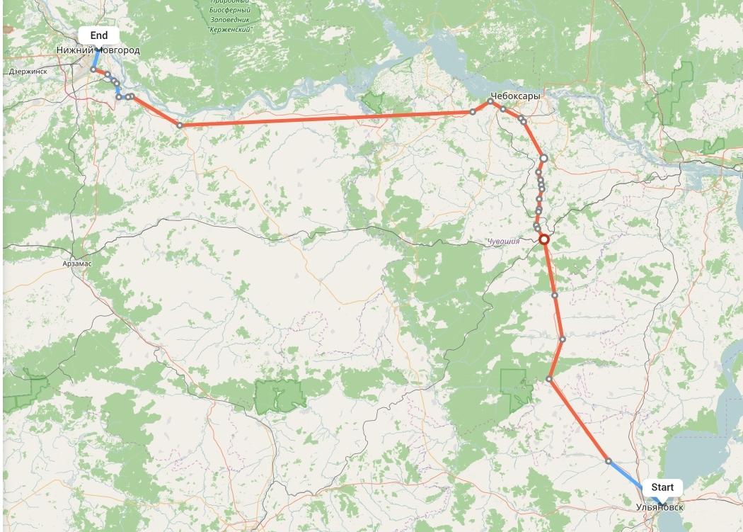 Переезд из Ульяновска в Нижний Новгород
