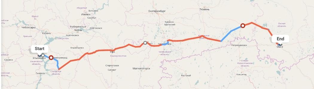 Переезд из Ульяновска в Омск