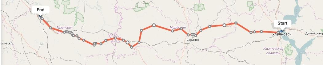 Переезд из Ульяновска в Рязань