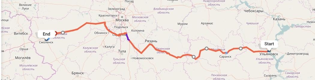 Переезд из Ульяновска в Смоленск