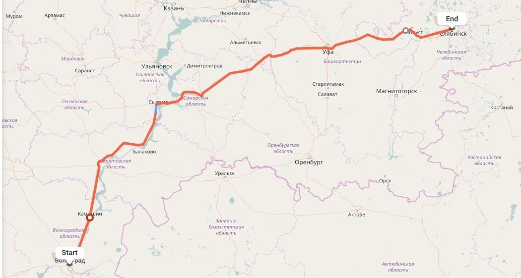 Переезд из Волгограда в Челябинск