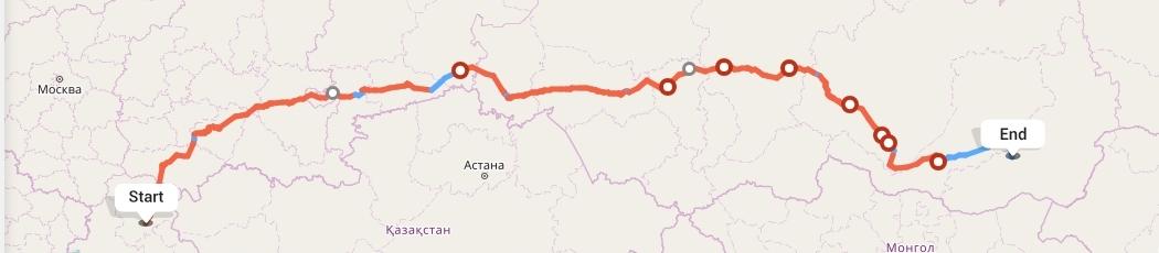 Переезд из Волгограда в Читу