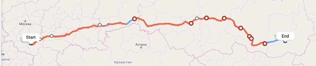 Переезд из Воронежа в Читу