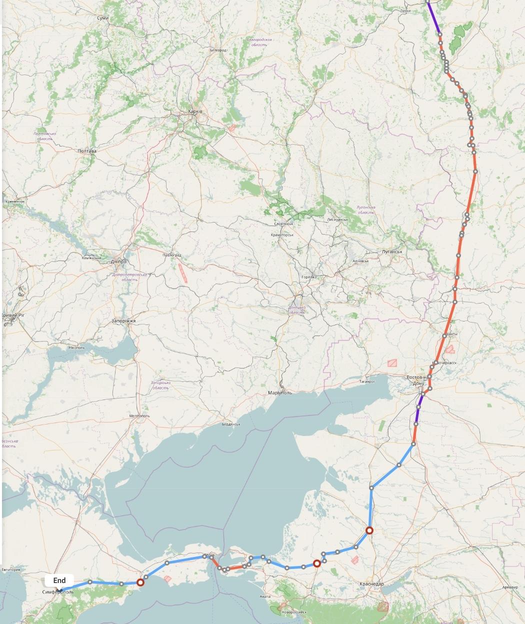 Переезд из Воронежа в Симферополь