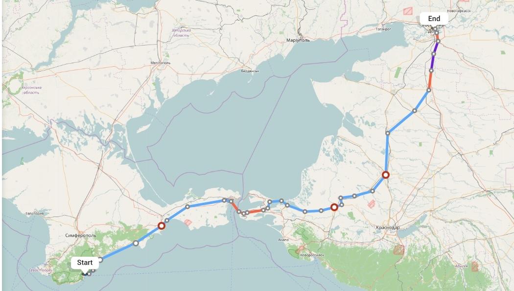 Переезд из Ялты в Ростов-на-Дону