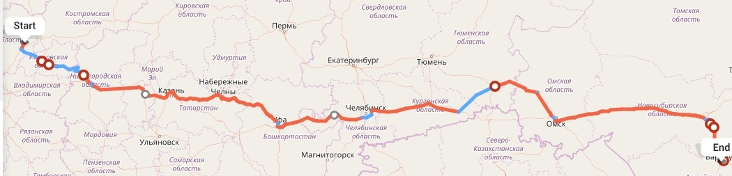 Переезд из Ярославля в Барнаул