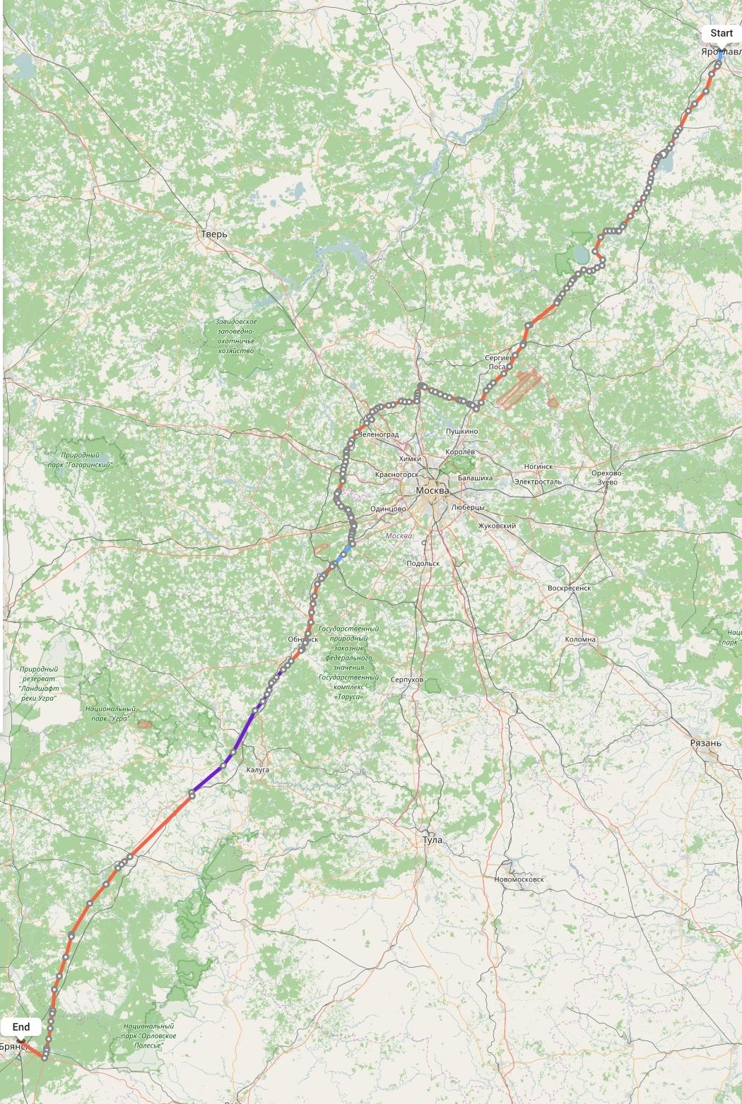 Переезд из Ярославля в Брянск