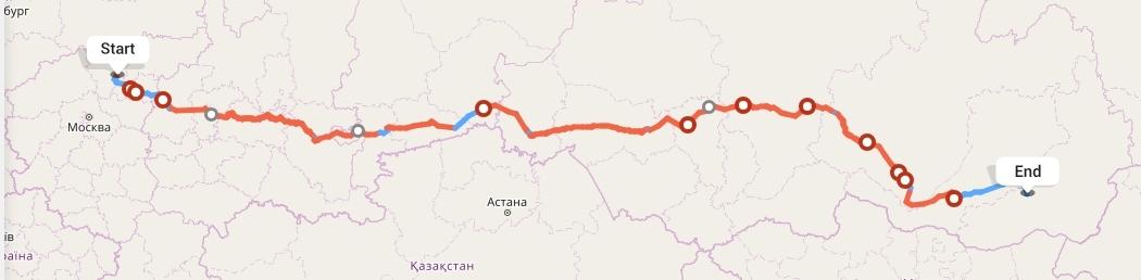 Переезд из Ярославля в Читу