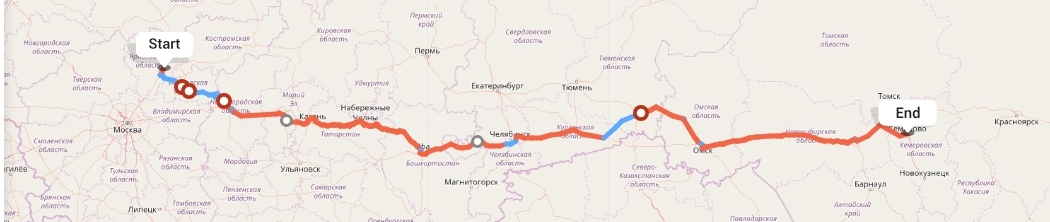 Переезд из Ярославля в Кемерово