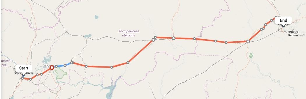 Переезд из Ярославля в Киров