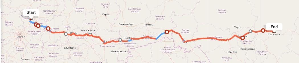 Переезд из Ярославля в Красноярск