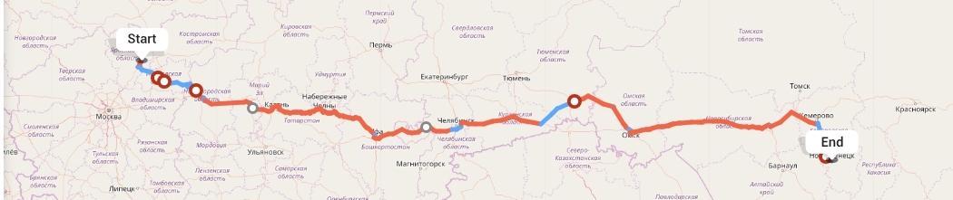 Переезд из Ярославля в Новокузнецк