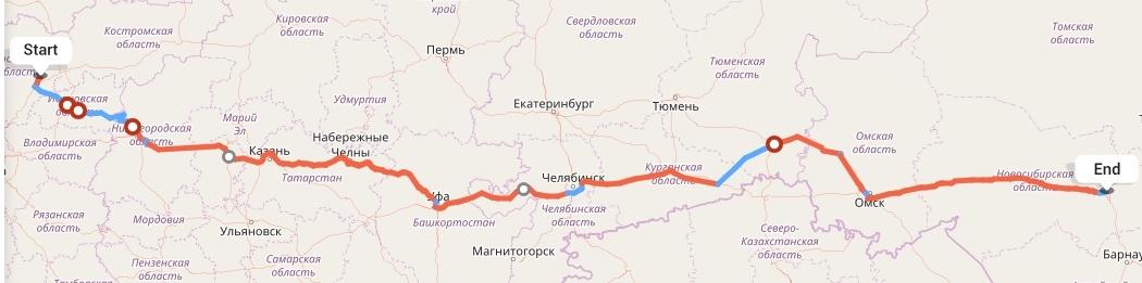 Переезд из Ярославля в Новосибирск
