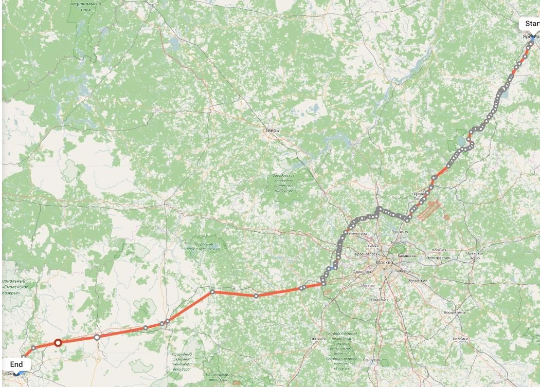 Переезд из Ярославля в Смоленск
