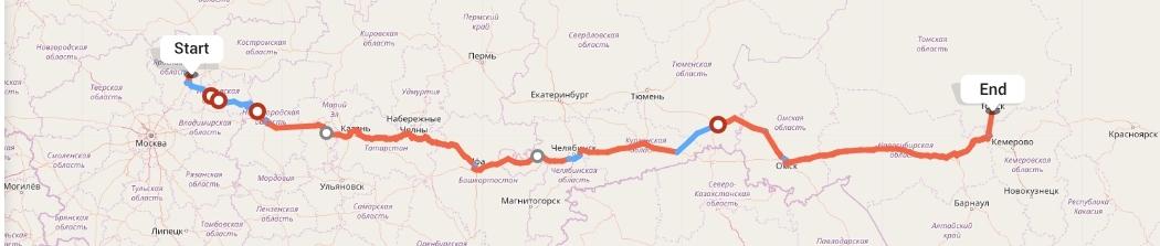 Переезд из Ярославля в Томск
