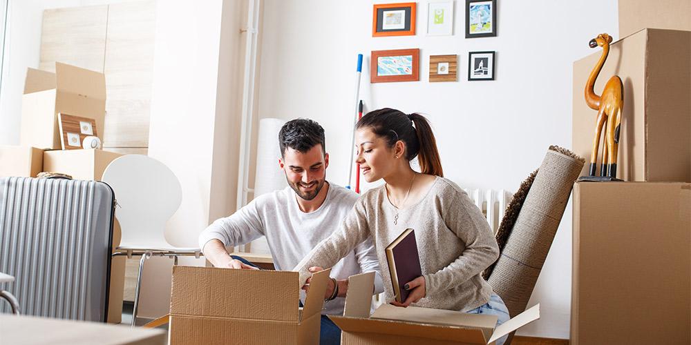 Организовать переезд однокомнатной квартиры